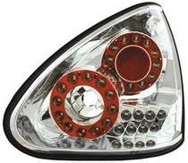 04-08 Nissan Maxima In Pro Car Wear Tail Lamps, LED - Set - Crystal Clear