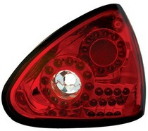 04-08 Nissan Maxima In Pro Car Wear Tail Lamps, LED - Set - Ruby Red