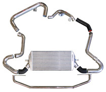 06 Subaru WRX, 05.5-06 Sti 2.5L Injen Intercoolers - Large Front Mount w/ Bumper Support Replcement