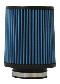 "2001-2003 Volvo V70 Injen AMSOIL Ea Nanofiber Dry Air Filter - 3 1/2 Flange Diameter 6 "" Base / 6 7/8"" Tall / 5 1/2"" Top- 54 pleat """