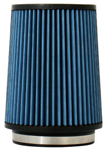 "2001-2003 Volvo V70 Injen AMSOIL Ea Nanofiber Dry Air Filter - 5 Flange Diameter 6 1/2"" Base / 8"" Tall / 5 1/2"" Top- 70 pleat """
