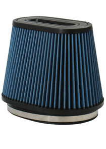 "2001-2003 Volvo V70 Injen AMSOIL Ea Nanofiber Dry Oval Air Filter- 8 1/2 x 9.00"" Flange Diameter 7.00"" Tall / 4"" x 8"" Top- 70 pleat"""