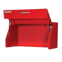 "1991-1994 Mazda Navajo International Tool Box 54"" Wide Super Heavy Duty Canopy / Hutch - Red"