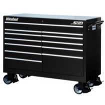 "1991-1994 Mazda Navajo International Tool Box 54"" Wide Super Heavy Duty Cabinet - Black"