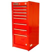 1965-1968 Mercury Colony_Park International Tool Box 8 Drawer Red Side Cabinet