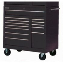 "1994-1998 Ducati 916 International Tool Box 42"" 13 Drawer Black Roller Cabinet"