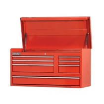"1965-1968 Mercury Colony_Park International Tool Box 42"" 7 Drawer Chest"