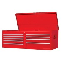 "1960-1961 Dodge Dart International Tool Box 9 Drawer Chest 53"" x 18"" x 22"""