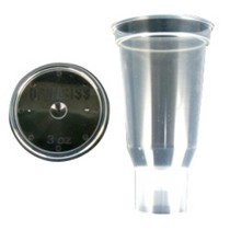 2008-9999 Pontiac G8 ITW Devilbiss 3 Oz. Disposable Cup and Lid (Qty 24)
