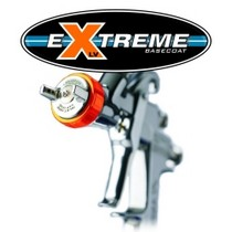 2008-9999 Smart Fortwo Iwata LPH400-134LVX extreme Basecoat Spray Gun With 700 ml Cup
