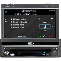 1993-1996 Mitsubishi Mirage Jensen 1Din 7-inch Widescreen LCD With Touch Screen Panel Display And Built-in Bluetooth