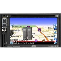 2000-2002 Hyundai Tiburon Jensen 2DIN 6.2-inch Touch Screen Multimedia System With Built-in Navigation