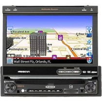 2000-2002 Hyundai Tiburon Jensen 1DIN 7-inch Touch Screen Multimedia System With Built-in Navigation