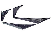 "2009-9999 Ford F150 JSP Canards - Carbon Fiber (11"" x 3.75"")"
