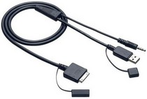 2007-9999 Honda Fit JVC iPod Audio/Video Cable for In-Dash JVC Reciever
