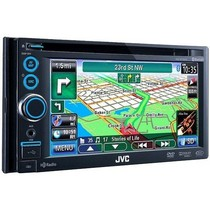 2008-9999 Subaru Impreza JVC Double DIN Bluetooth / HD Radio / DVD/CD/USB/SD Card / Navigation with 6.1 Inch Touch Panel Monitor