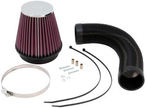 Cold Air Intake Kit RED Filter For 98-03 Ford Escort ZX2 Zetec 2.0L L4
