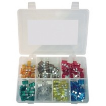 2000-2002 Hyundai Tiburon K Tool International 120 Piece Auto Fuse Assortment