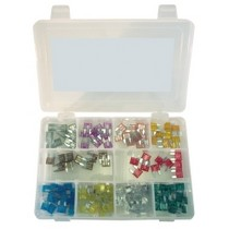 2005-2010 Scion TC K Tool International 120 Piece Mini Auto Fuse Assortment
