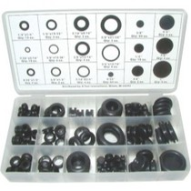 2002-2006 Harley_Davidson V-Rod K Tool International 125 Piece Grommet Assortment