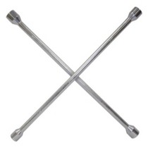 Universal (All Vehicles) K Tool International 4 Way SAE Tire iron / Lug Wrench