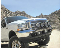Ford excursion light bars at andys auto sport 99 05 ford excursion 4wd 99 05 ford superduty 4wd kc hilites light aloadofball Images