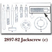 2000-2002 Plymouth Neon KD Tools Jack Screw for KDT2897