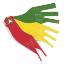1954-1958 Plymouth Plaza KD Tools Brake Lining Thickness Gauge