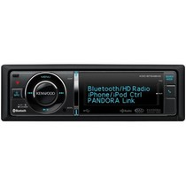 1964-1973 Ford Mustang Kenwood In-Dash USB/CD Receiver With Built-In Bluetooth/HD Radio