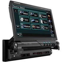 1993-1993 Ford Thunderbird Kenwood 1-DIN Navigation Ready Multimedia DVD Receiver