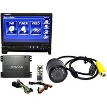 "1984-1996 Chevrolet Corvette Kenwood 7"" motorized DVD Navigation System With USB/ipod/RDS And Dual Zone + Camera"