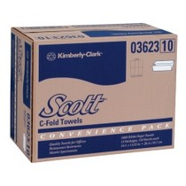 1966-1976 Jensen Interceptor Kimberly Clark Scott® C-Fold Paper Towel