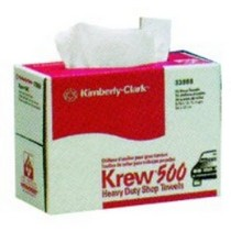 "2001-2003 Honda Civic Kimberly Clark Krew Heavy Duty Rags 9 3/4"" x 16 3/4"" - Pop-Up Box"