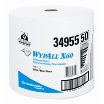 1983-1989 BMW M6 Kimberly Clark WypAll® X60 Teri Reinforced Jumbo Roll Wipers