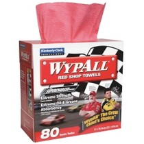 1984-1986 Ford Mustang Kimberly Clark WYPALL® Red Shop Towels - 80 count