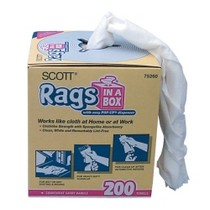 "1998-2000 Volvo S70 Kimberly Clark Scott Rags in A Box 10"" x 14"" - Box"