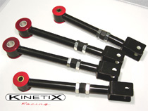 2003-2008 Nissan 350z Kinetix 350Z Adjustable camber A-arms / Traction Package -Rear