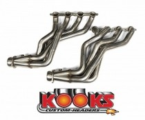 "2010-9999 Chevrolet Camaro Kook's Longtube Headers - Stainless Steel - 1 7/8"" x 3"""