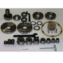 1966-1976 Jensen Interceptor KWIK-WAY Brake Lathe Deluxe Adapter Kit #2