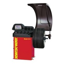 1989-1992 Ford Probe KWIK-WAY 574 3-Dimensional Wheel Balancer