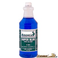 Not Applicable Lane's Tire Gloss - Super Blue (Gallon)