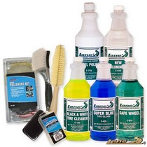 Not Applicable Lane's Wheel Polishing & Tire Cleaning Kit (16oz)