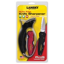 2000-2002 Plymouth Neon Lansky Sharpeners Quick Edge Sharpener With Lock Blade Knife