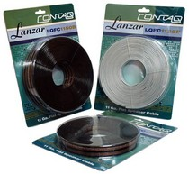 2000-2002 Plymouth Neon Lanzar Contaq 50ft Pearl White 11 Gauge Flat Speaker Cable