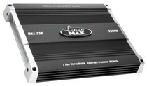 2001-2003 Honda Civic Lanzar 2000 Watt 2 Channel Bridgeable MOSFET Amplifier