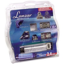 2002-2005 Honda Civic_SI Lanzar Optidrive 4 Gauge Digital Installation Kit w/1.2 FARAD Capacitor