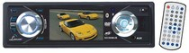 "1974-1983 Mercedes 240D Lanzar 3"" TFT DVD/VCD/MP3/MP4/CDR/USB Player & AM/FM Receiver Built-In Bluetooth"
