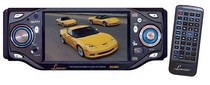 "1989-1992 Ford Probe Lanzar 4"" TFT Monitor w/ DVD/ VCD/ MP3/ CD Player & AM/ FM Radio"