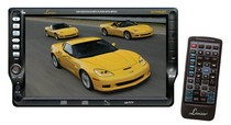 "1958-1961 Pontiac Bonneville Lanzar 7"" TFT Touch Screen DVD/VCD/CD/MP3/CD-R/USB/AM/FM/RDS Receiver with Bluetooth System"