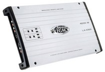 2008-9999 Ford Escape Legacy 4000 Watt 4 Channel Bridgeable MOSFET Amplifier